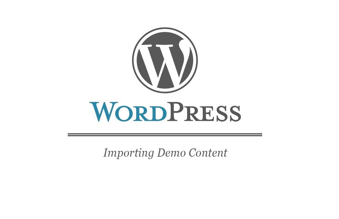 demo contents in wp